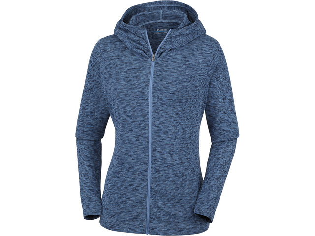 Columbia OuterSpaced Sweat à capuche zippé Femme, blue dusk space